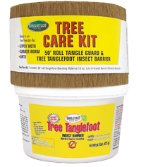 Tree Tanglefoot? Insect Barrier protects your trees from damaging insects.